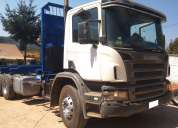 Camión scania p340 6x4 año 2009 carroceria forestal