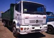 Camión mbenz 1728 6x2 año 2004 carroceria granalera