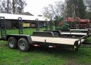 Se vende carro de arrastre de 4000 kilos