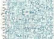 ¿necesitas clases personalizadas de física y/o matemática?