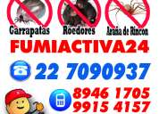 Higiene ambiental/ control de plagas