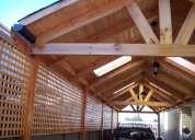 Trabajos de cobertizos, terrazas,decks,pergolas, ect, 53170151