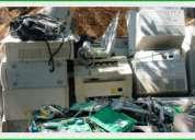 Realizamos todo tipo de reciclajes  computadores - metales -latas - entre otros