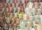 Garrafas de vidrio de 5 litros
