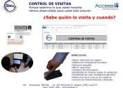 Solucion control de visitas