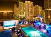 Hotel restaurante requiere trabajadores para vivir y trabajar en ee.uu. en epic hotel miami