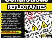 Señaleticas reflectantes de seguridad