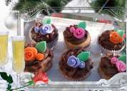 Cupcakes bellos y deliciosos a pedido