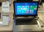 Notebook hp embalados solo 4 unidades