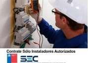 Reparaciones eléctricas instalador autorizado sec.