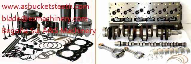 kit de reacondicionamiento general del motor CASE cx160