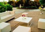 Arriendo mobiliario lounge