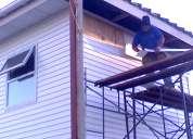 Cambios de techumbre e instalación de siding