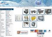Cámaras frigorificas, máquinas refrigeradas