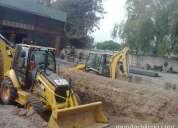 arriendo retroexcavadora en todo santiago 227098271 demoliciones escombros