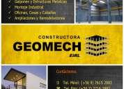 Constructora geomech eirl - galpones metálicos