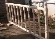 Se fabrican escaleras de madera talca, maule