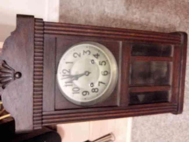 vendo reloj antiguo acuerda aleman