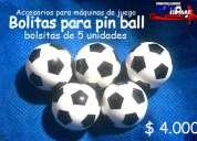 Bolitas para maquina de juego pin ball