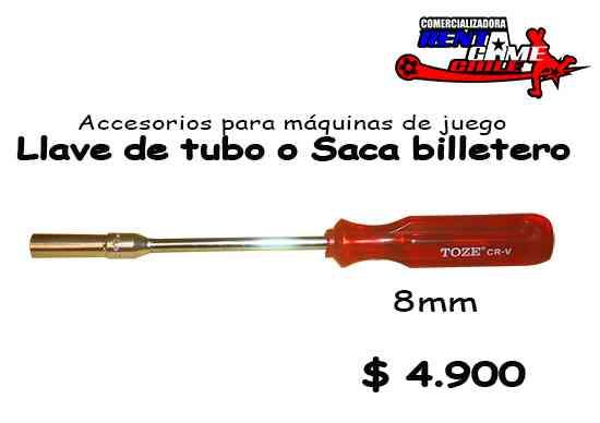 oferta de rentagame :Llave de tubo o saca billetero 8mm
