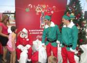 Fiestas de navidad fiestas empresa viejos pascueros animaciones infantiles payasos