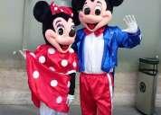 Evento de navidad fiestas empresa viejos pascueros animaciones infantiles payasos mickey mouse