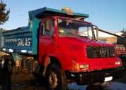 Camión mbenz 2318 6x4 año 1994 tolva de 10m3