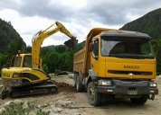 Camión renauth kerac 380 año 2005 tolva de 14m3