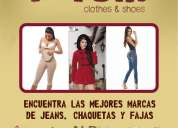 Jeans  y fajas   100% colombianos