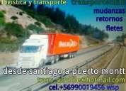 CamiÓn fletes y retornos santiago al sur 949025432