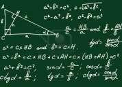 Clases particulares de matematicas y fisica a domicilio en antofagasta