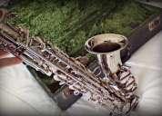 Se vende saxofon alto amati super classic