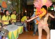 Batucada para eventos en santiago show brasileo para eventos