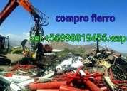Compro fierro chatarras y otros metales en temuco  90019456 wsp