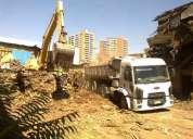 Demoliciones en santago 227098271 arriendo excavadora  retroexcavadora con martillo