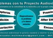 ¿problemas con tu proyecto audiovisual?