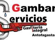 Gambaru servicios de gasfiteria