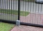 Tecnico en alarmas camaras de seguridad portones electricos