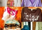 30 prendas de ropa de mujer por $35.000.- + 5 pantalones de regalo!