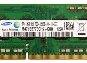 memoria ram notebook 2gb ddr3 samsung pc3 12800s