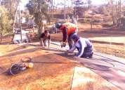 Reparación y cambios de techumbre e instalación de siding