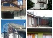casa amoblada, alquiler por dias semanas o meses, en chillan, exelente ubicacion cuatro dormitorios.