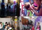 Animacion cumpleaÑos infantiles 2 monitores 40.000