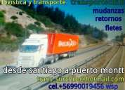 Camion fletes retornos puerto montt santiago 90019456 wsp