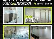 DiseÑo y decoracion de ventanales en oficinas y casas