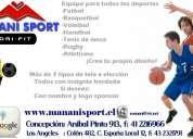 Equipos deportivos futbol- basquetbol- manani sport