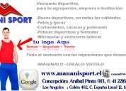 Vestuario deportivo - manani sport
