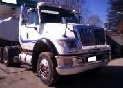 tracto camión internacional 7.600 6x4 año 2006