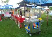 eventos mayer            carritos de choripanes