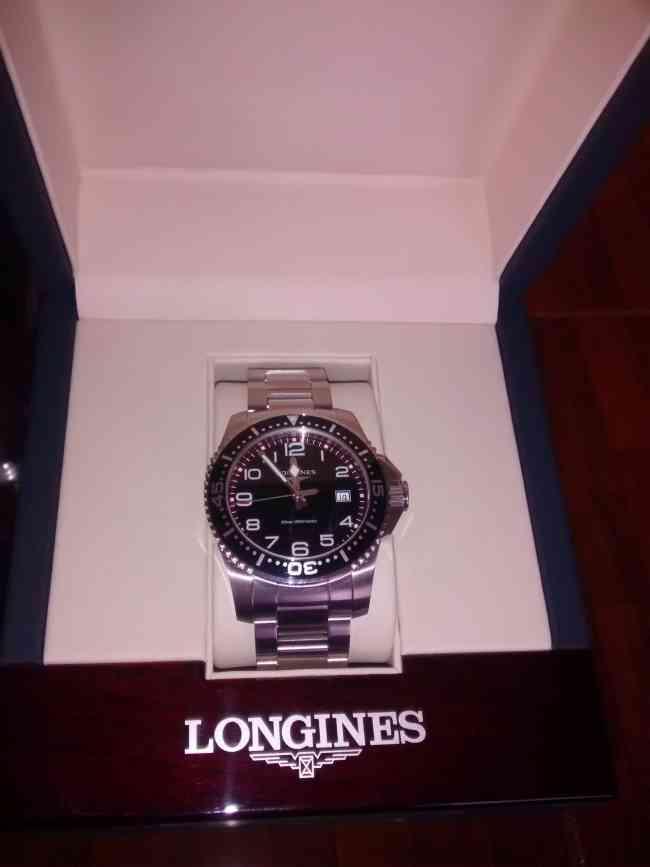 Reloj Longine nuevo